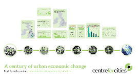 A century of urban economic change