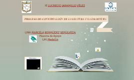 PROCESO DE CONSTRUCCIÓN DE LA LECTURA Y LA ESCRITURA