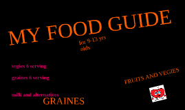 MONTARO'S FOOD GUIDE