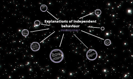 Explanations of independent behaviour