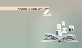 Copy of La classe 3/4 2014-2015