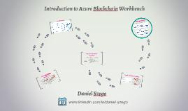 Introduction to Azure Blockchain Workbench
