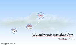 Wyszukiwanie Audiobook'ów