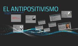 Copy of El antipositivismo
