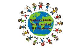 ELL Website Guide for Parents