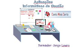 Aplicações Informáticas de Gestão - Criação Apresentações