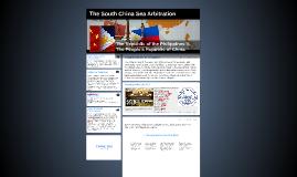 The South China Sea Arbitration