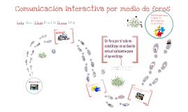 Copy of Comunicación interactiva por medio de foros