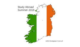 Study Abroad Ireland Summer 2018