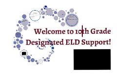 9th Grade EL Support