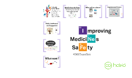 Improving Medicines Safety Learning Session 1