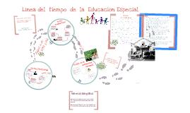 Copy of Línea del Tiempo de Educación Especial