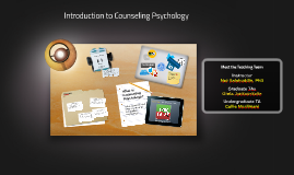 Introduction to Counseling Psychology