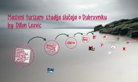 Masivni turizam: studija slučaja o Dubrovniku