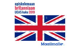 Opiskelemaan Britanniaan