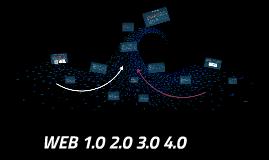 WEB 1.0 2.0 3.0 4.0