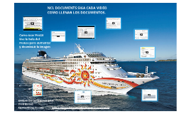 NORWEGIAN CRUISE LINE DOCUMENTS