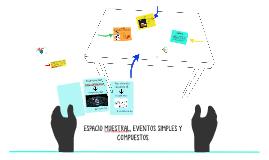 ESPACIO MUESTRAL, EVENTOS SIMPLES Y COMPUESTOS