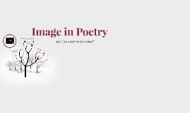 Image in Poetry