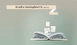 To Kill a Mockingbird Ch. 14-15