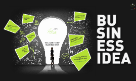 TEMPLATE - Business Idea Green