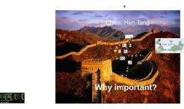 Hist 221: China Han-Tang
