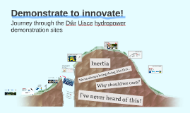 Demonstrate to innovate!