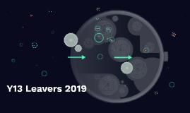 Y13 Leavers 2019