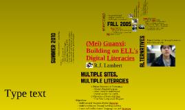 Building on ELL's Digital Literacies
