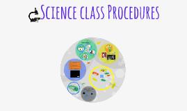 Science class Procedures
