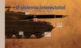 O sistema interestatal