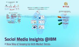 Social Insights @IBM