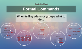 Copy of Formal Commands