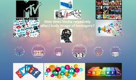 How does Media negatively affect teenagers?