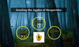 Stealing the Apples of Hesperides