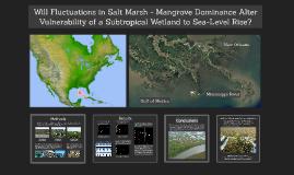 Will Fluctuations in Salt Marsh - Mangrove Dominance Alter V