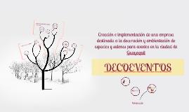 Copy of Creación e implementación de una empresa destinada a la deco