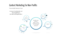 Content Marketing for Non-Profits