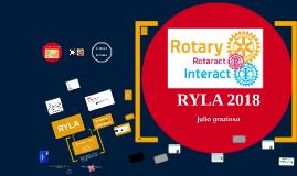RYLA 2015 INTERACT & ROTARACT