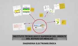 INSTITUTO TECNOLOGICO SUPEIOR DEL ORIENTE DEL ESTADO DE HIDA