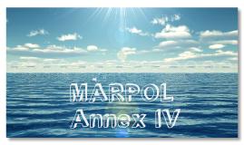 MARPOL Annex IV