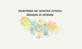 TRANSTORNO DEL ESPECTRO AUTISTA