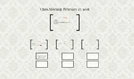 Class Meeting: February 27, 2017
