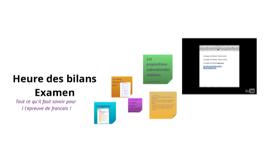 Copy of Heure des bilans