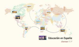 Educacion de Espana