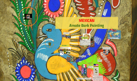 Copy of Mexican Amate Bark Painting Art Lesson