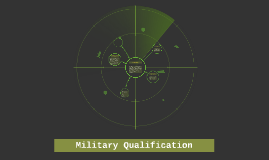 Military Qualifications