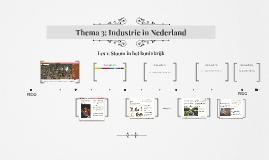 Thema 3: Industrie in Nederland