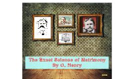 The Exact Science of Matrimony