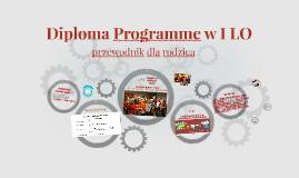 Diploma Programme w I LO